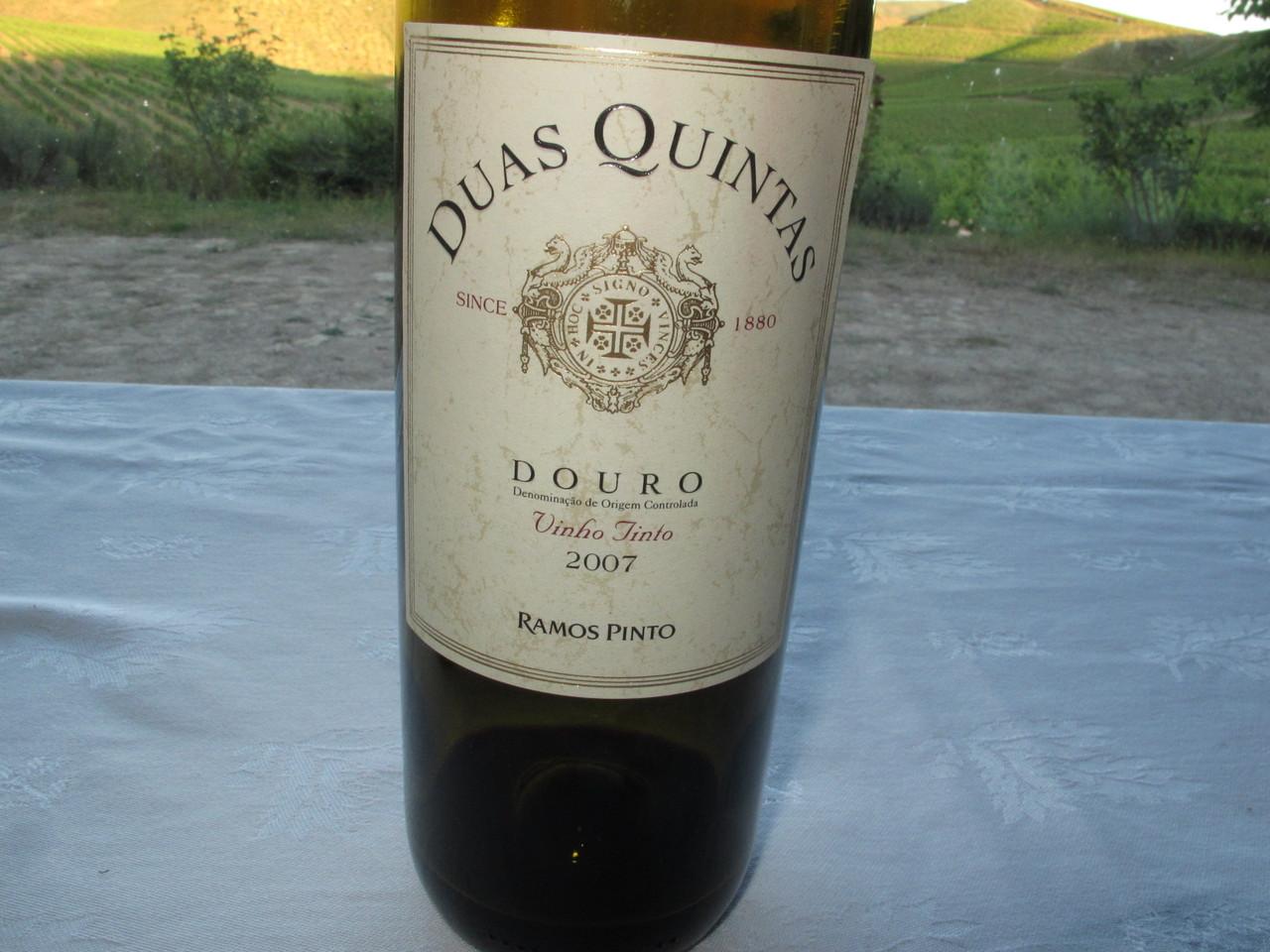 Duas Quintas tinto 2007, talvez o melhor vinho da prova!