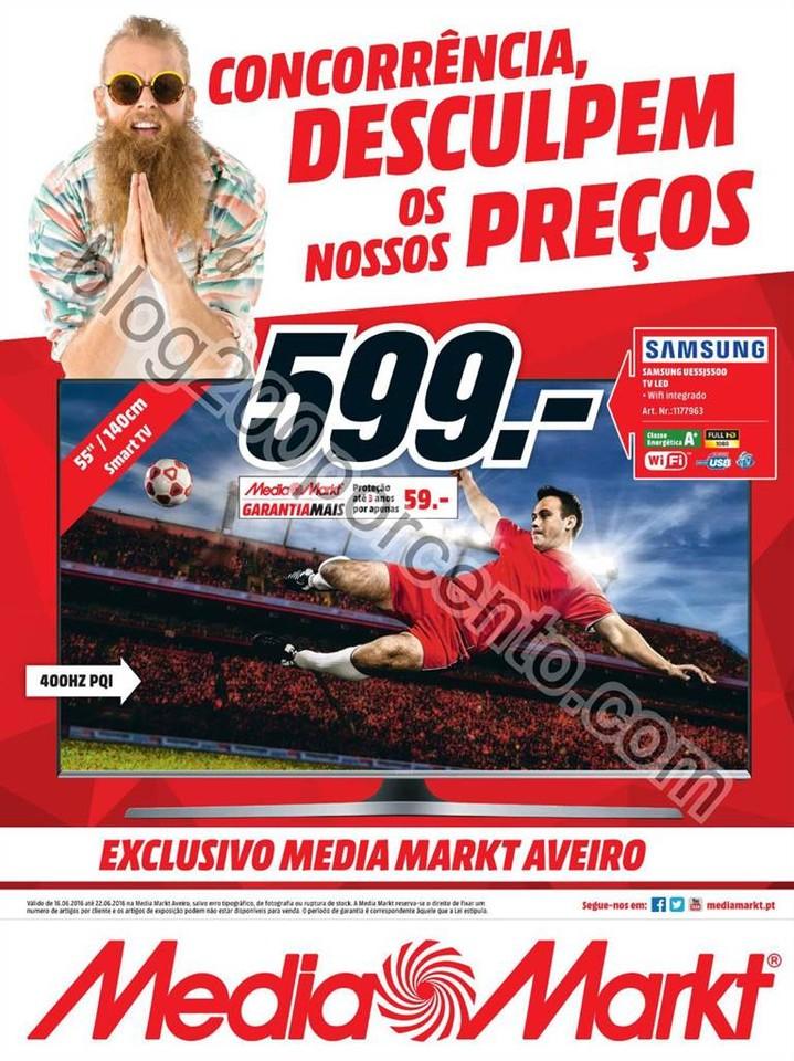Novo Folheto MEDIA MARKT Aveiro Promoções de 16