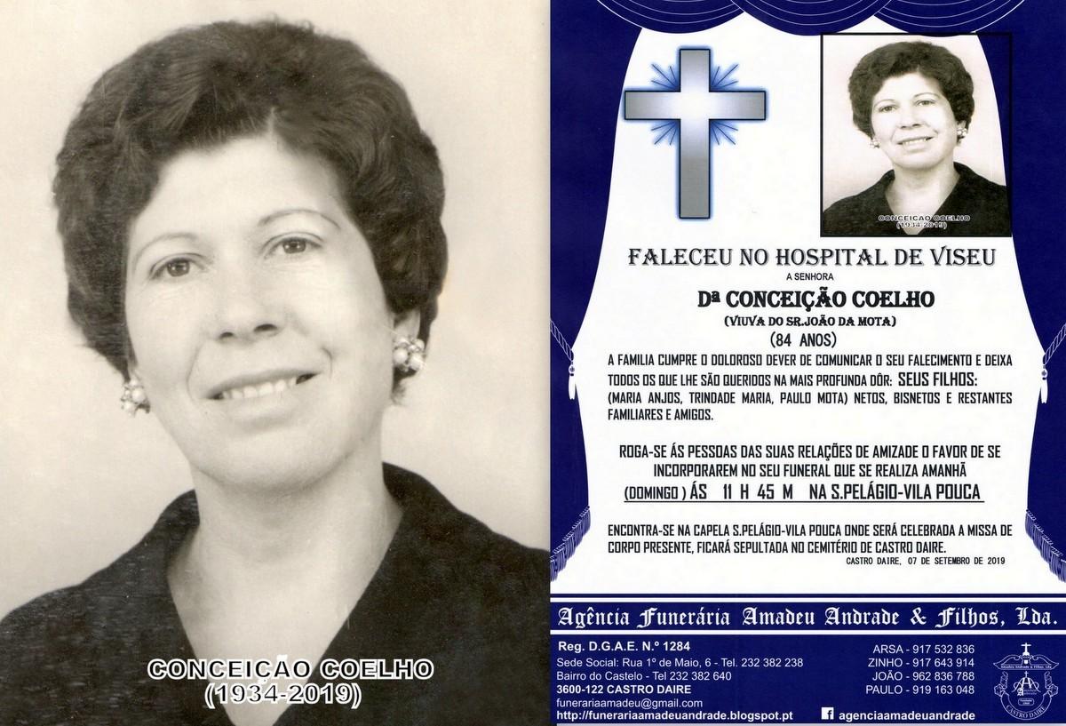 FOTO RIP  DE CONCEIÇÃO COELHO-84 ANOS (VILA POUC