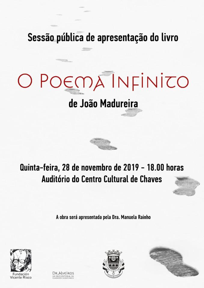 Cartaz - O Poema Infinito - Chaves 28112019 1800.j