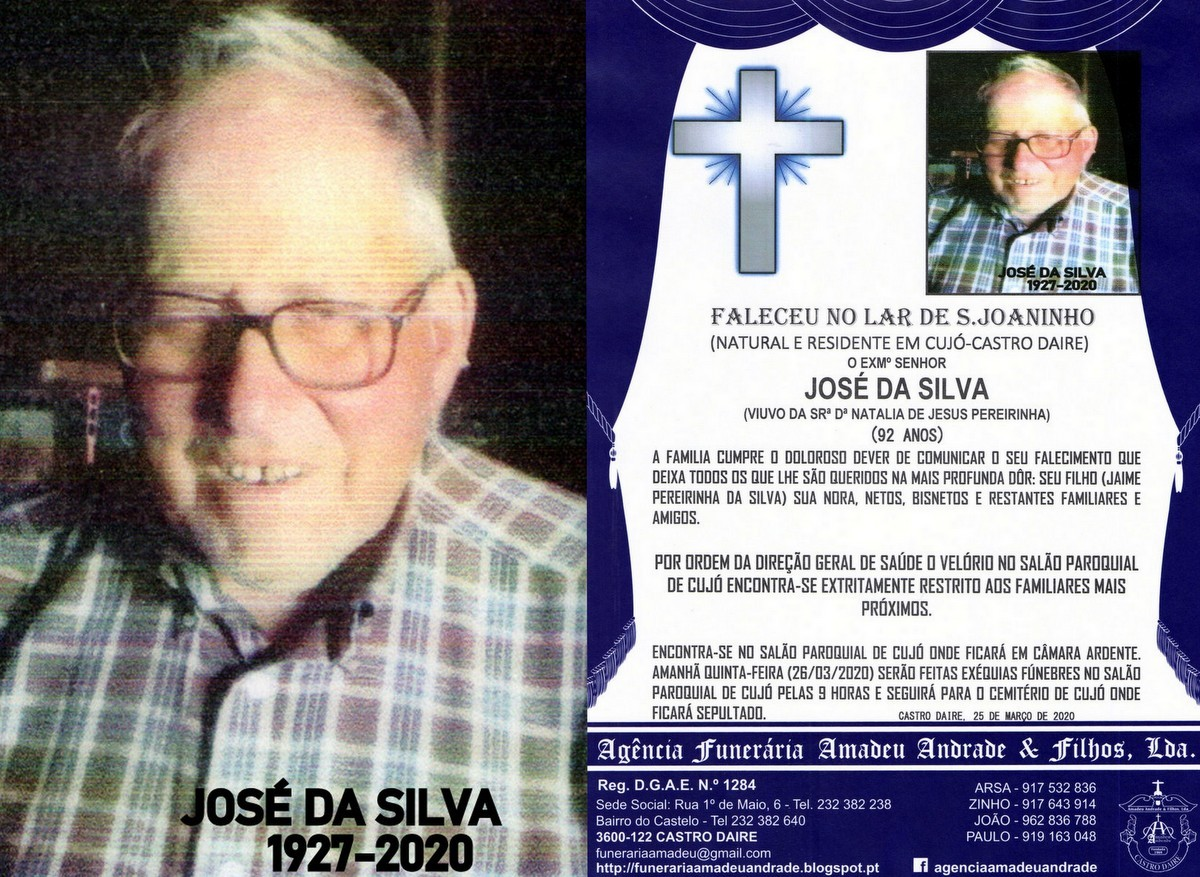 FOTO RIP NOVO  DE JOSÉ DA SILVA-92 ANOS (CUJÓ)2.