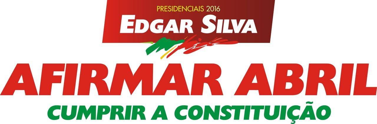 Logo Edgar Silva mensagem