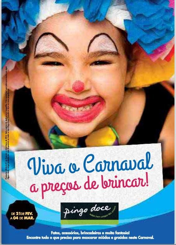 Novo folheto   PINGO DOCE   Carnaval de 21 fevereiro a 4 março