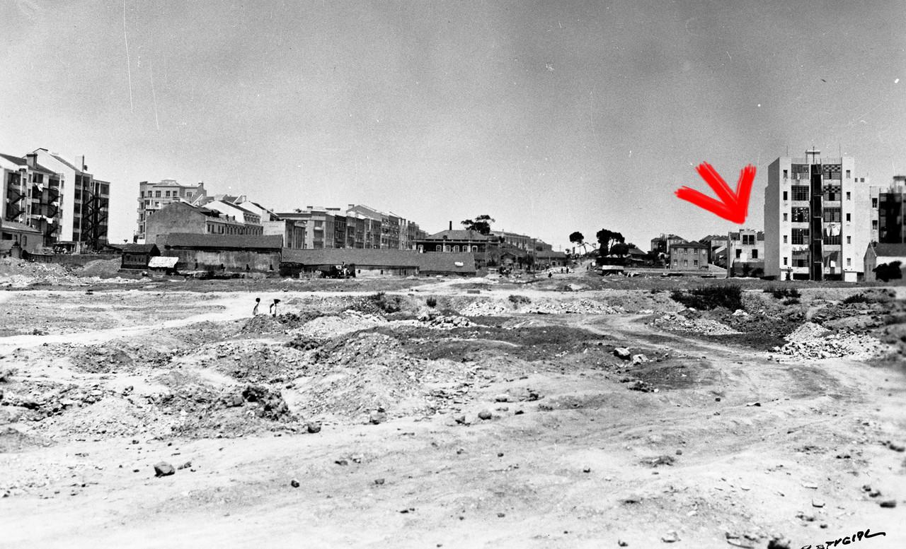Terraplenagens antes da Alameda, Lisboa (E. Portugal, 1939)