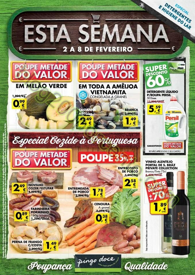 Antevisão Folheto PINGO DOCE Madeira de 2 a 8 fev