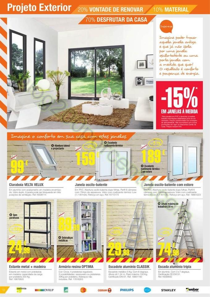 Novo Folheto LEROY MERLIN Promoções de 18 março