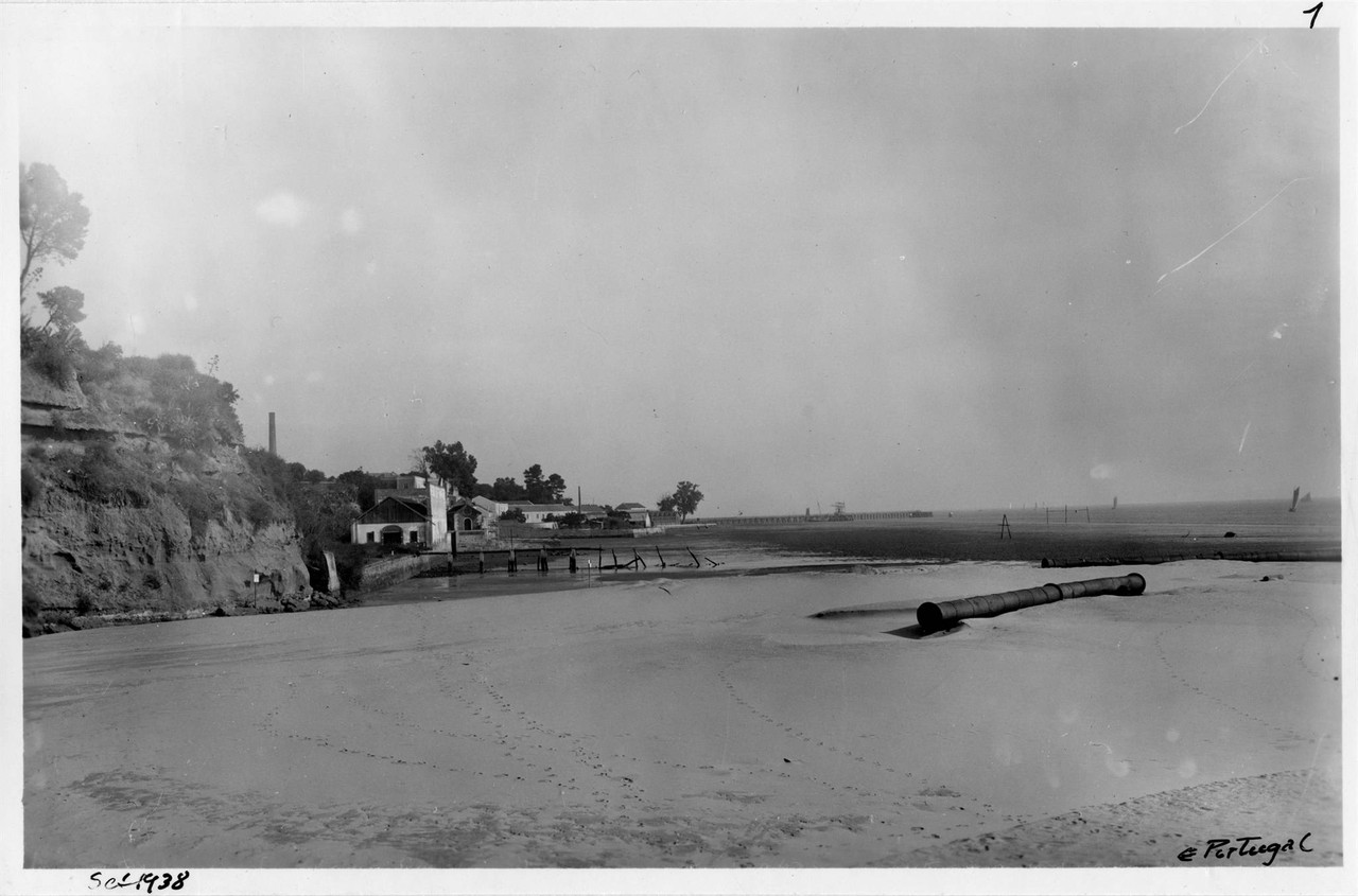 Praia da Matinha, Lisboa (E. Portugal, 1938)
