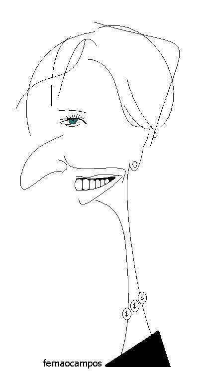 Christine Lagarde_caricatura