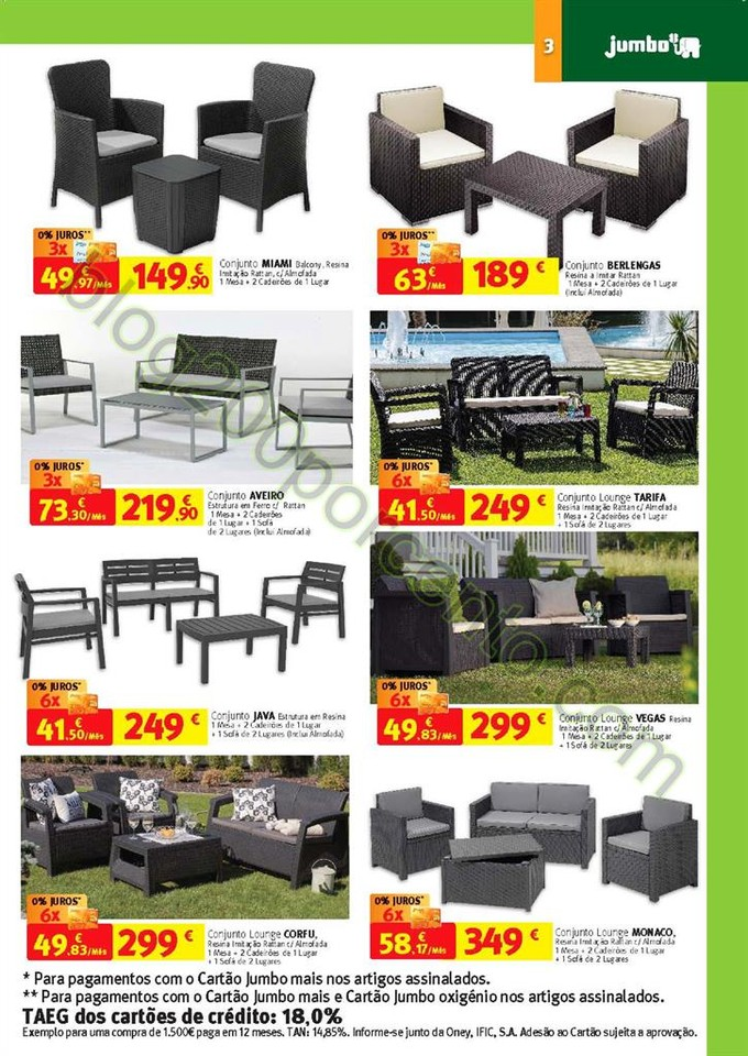 Novo Folheto JUMBO Jardim Promoções de 19 abril