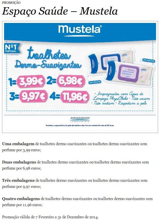 Promoção toalhitas | EL CORTE INGLÉS | Mustela