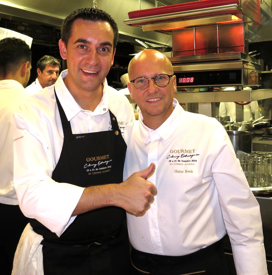 Paolo Casagrande e Heinz Beck