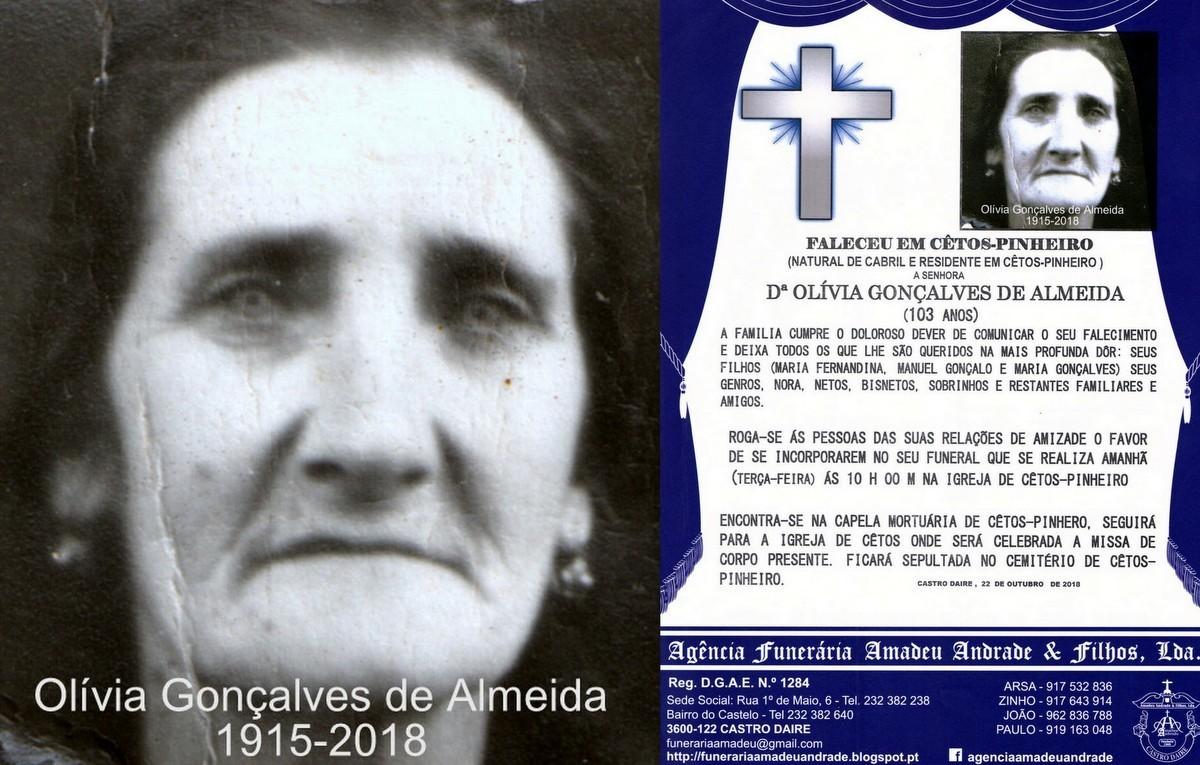 FOTO E RIP  DE OLIVIA GONÇALVES DE ALMEIDA-103 AN