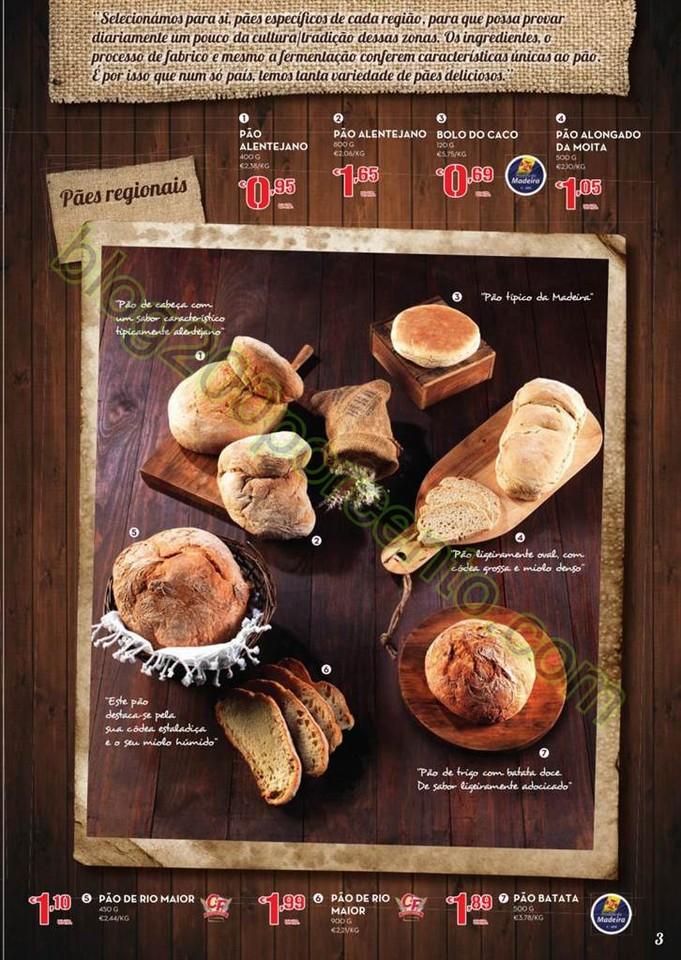 Antevisão Folheto CONTINENTE Feira do pão promo