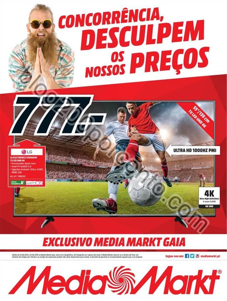 Novo Folheto MEDIA MARKT Gaia promoções 16 a 22
