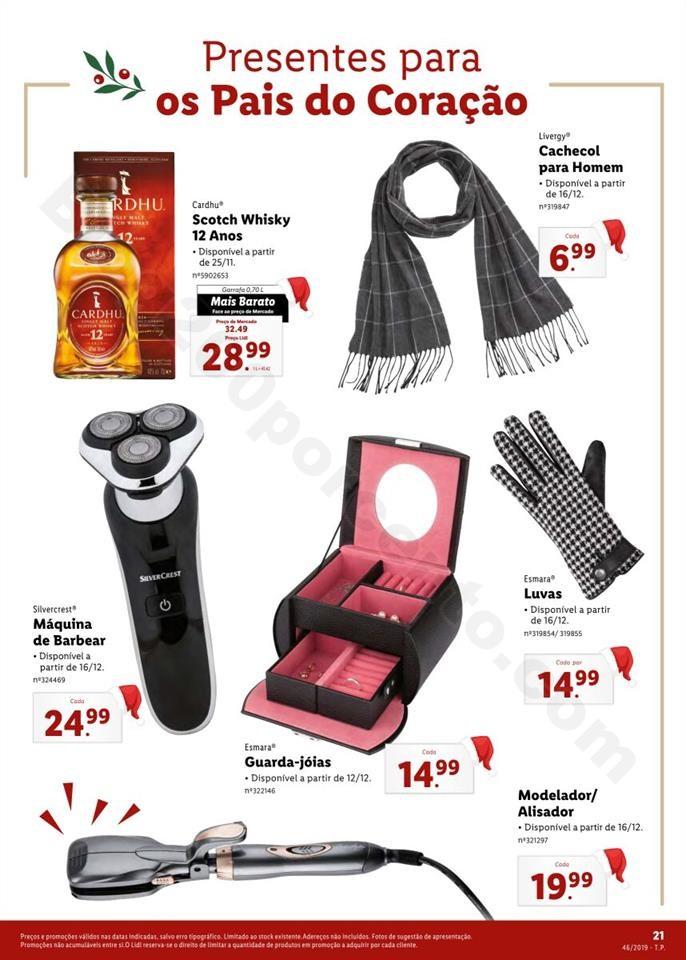 Folheto LIDL Presentes de Natal 11  novembro p21.j