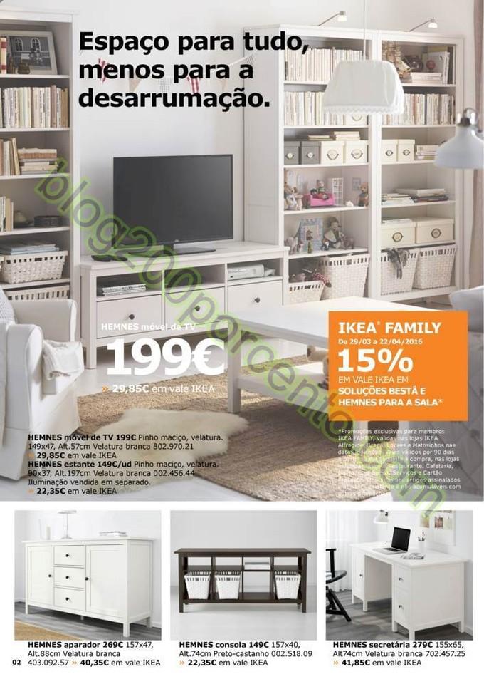 Antevisão Folheto IKEA Promoções de 29 março a
