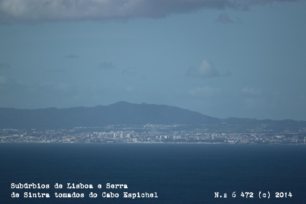 Vista do Cabo Espichel em tom neutro. (c) 2014