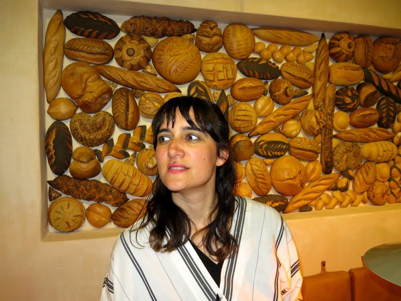 Os pães d'A PADARIA PORTUGUESA num nicho de Joana Astolfi