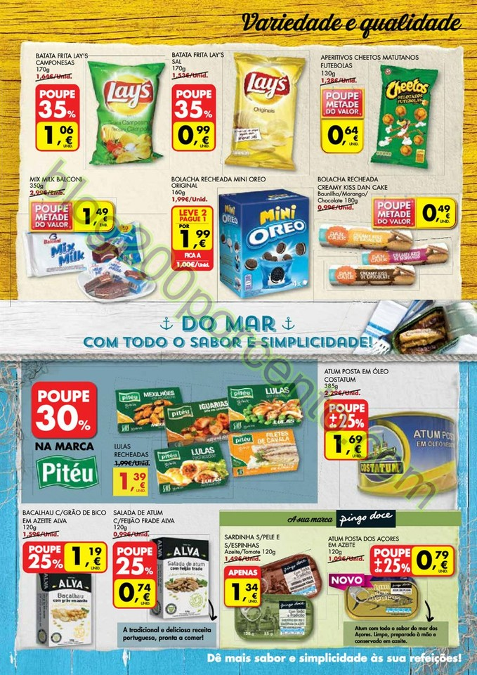 Antevisão Folheto PINGO DOCE Madeira de 16 a 22 f