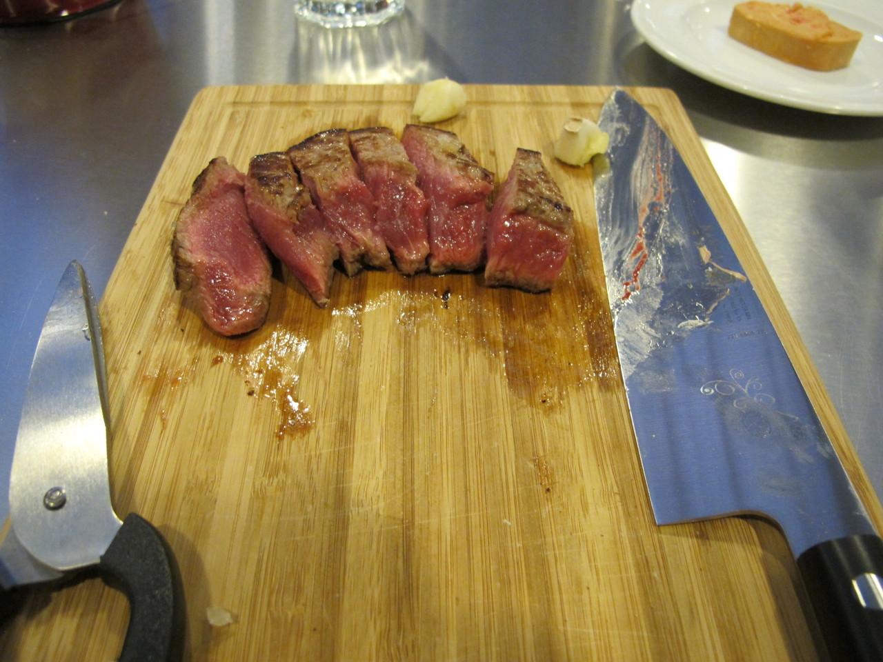 A faca corta bem!