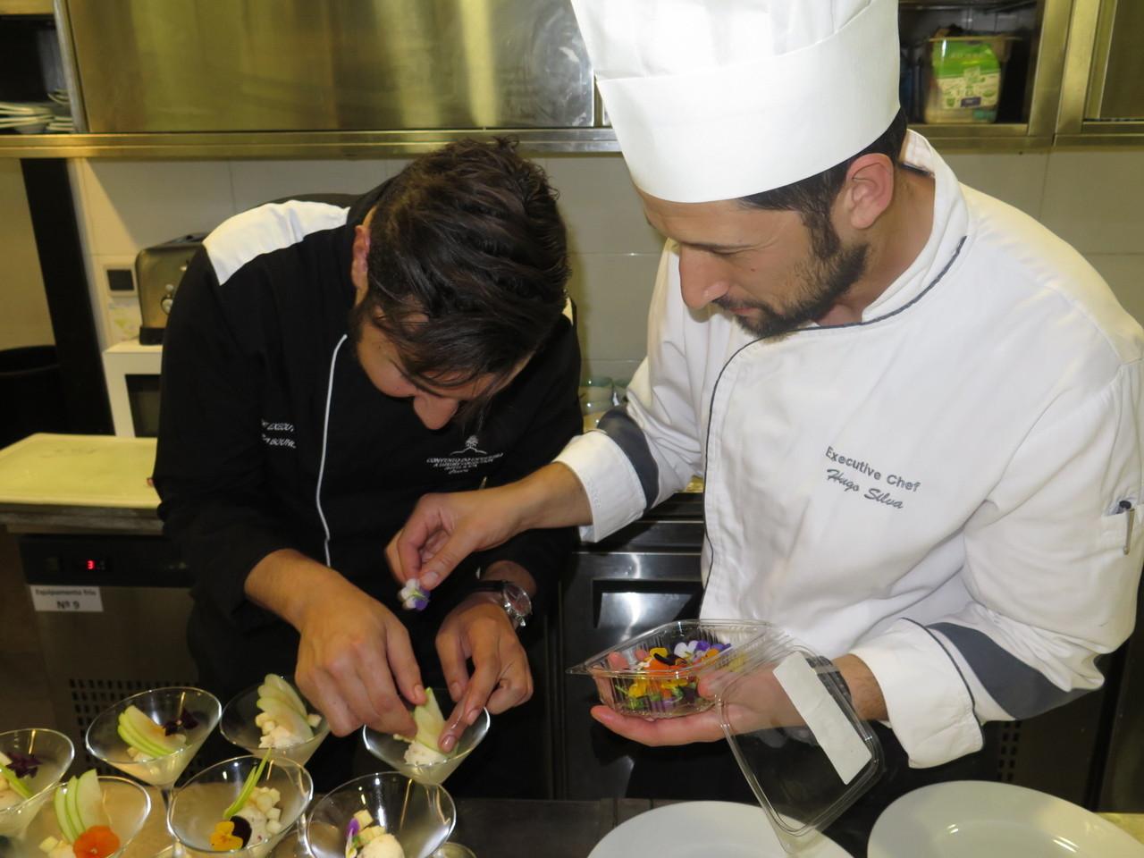 Bouazza Bouhlani e Hugo Silva
