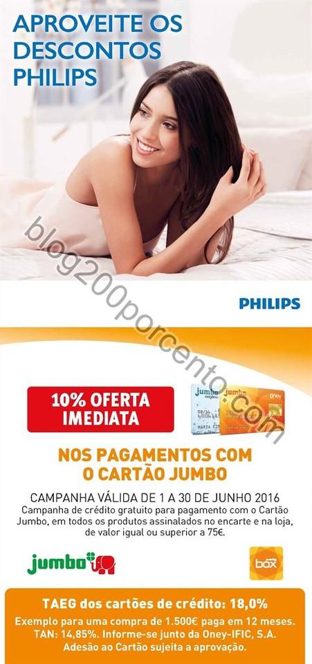 Antevisão Folheto Extra JUMBO Philips promoções