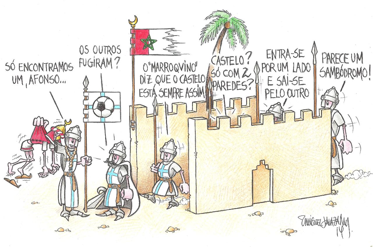 Algures no enclave Marroquino do Lado-de-lá-da-Morreira...