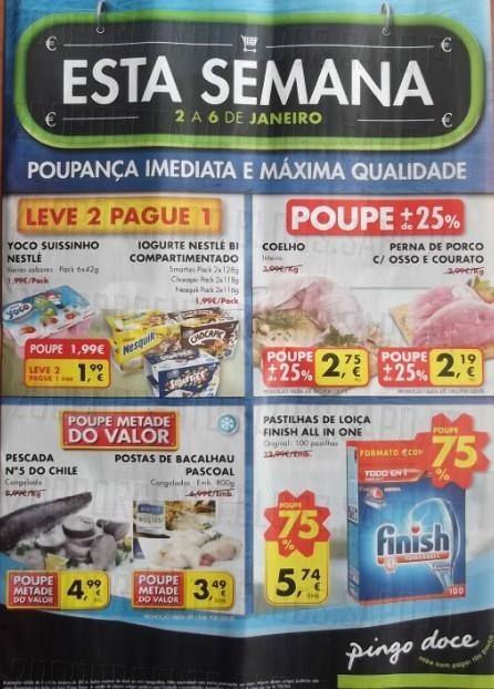 Antevisão Folheto | PINGO DOCE | de 2 a 6 janeiro - Já a seguir