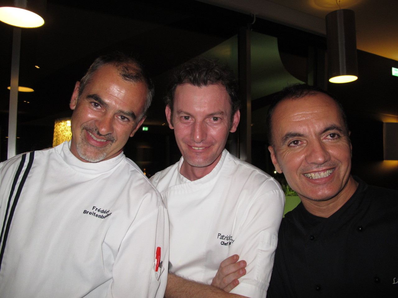 Frederic Breitenbucher, Patrick Lefeuvre, Luís Mourão