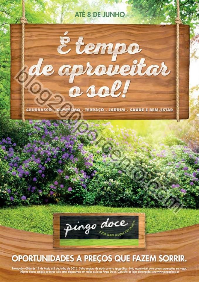 Antevisão Folheto PINGO DOCE Bazar de 19 maio a 8