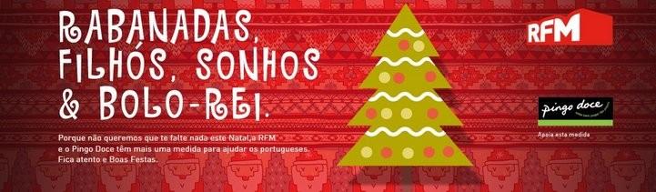 Oferta Ceia de Natal   PINGO DOCE / RFM  