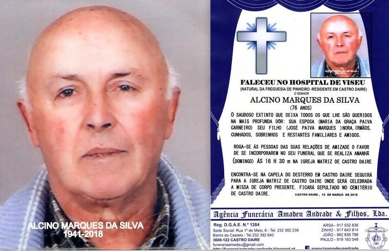 RIP-FOTO DE ALCINO MARQUES DA SILVA-76 ANOS (CASTR