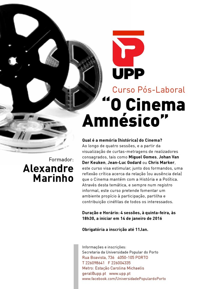 UPP Cinema Amnesico