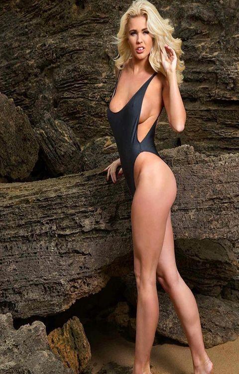 Jessica Jensen (Austrália-Bumbum 91;Alt. 1,67 m).