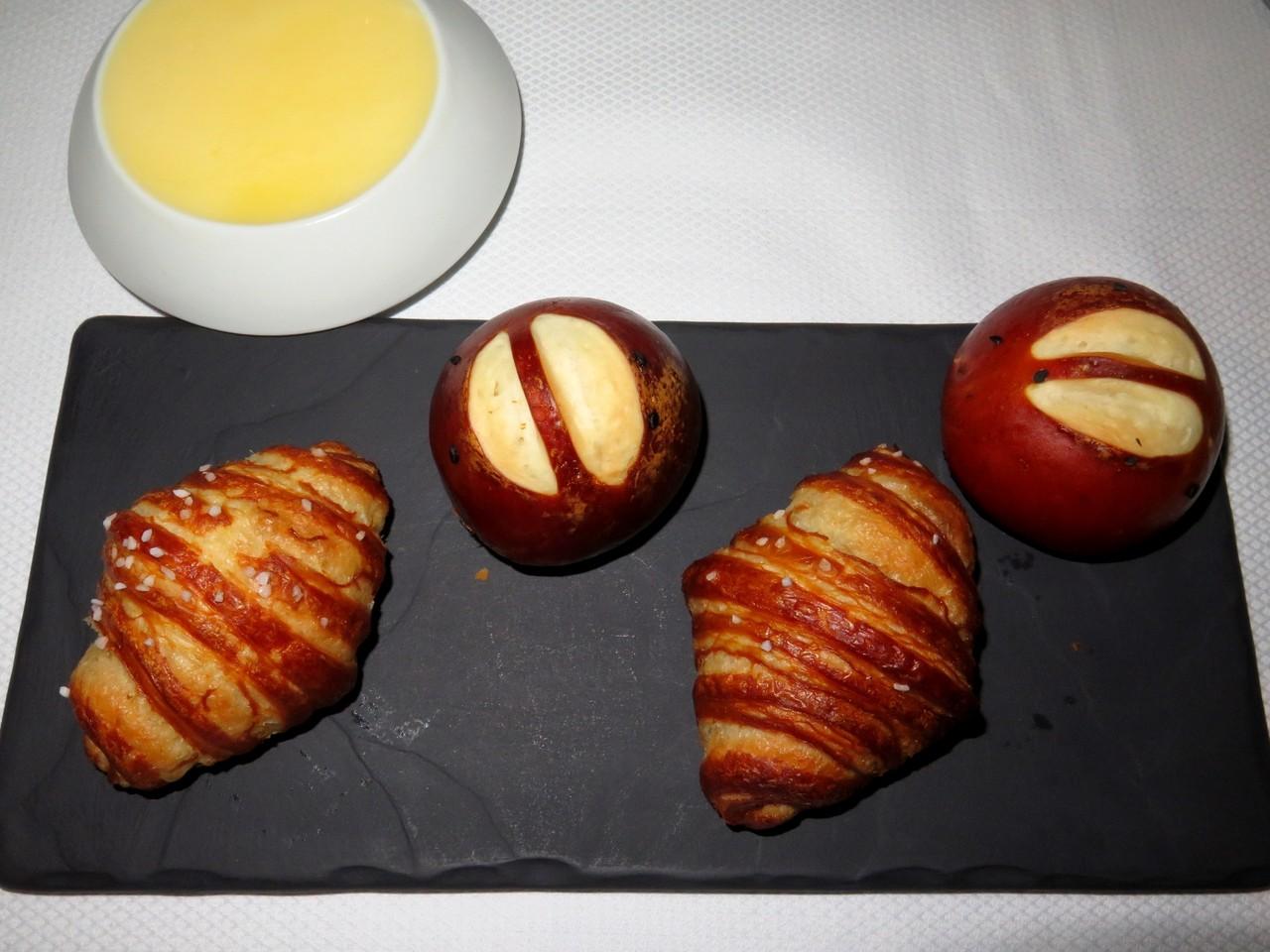 Pretzel Croissants e Pretzel Pains au Lait