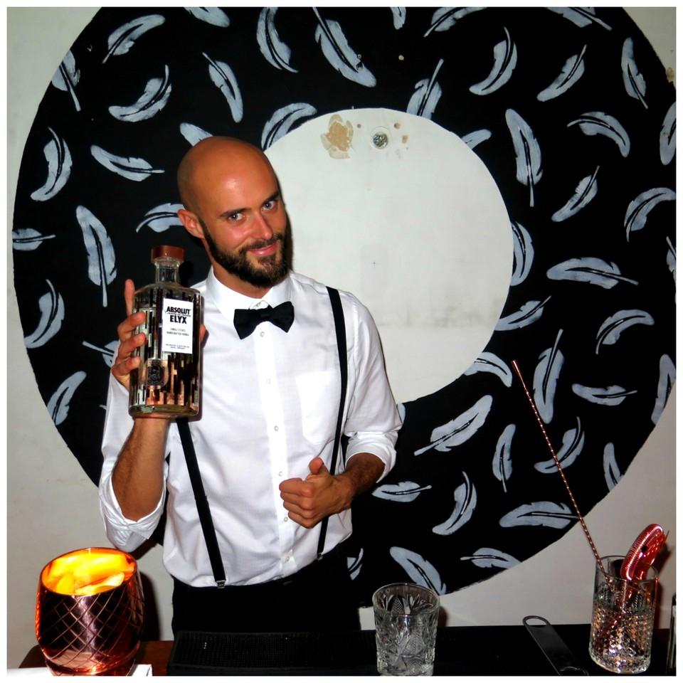Na Elyx House Lisbon, André Silva e a vodka Absolut Elyx