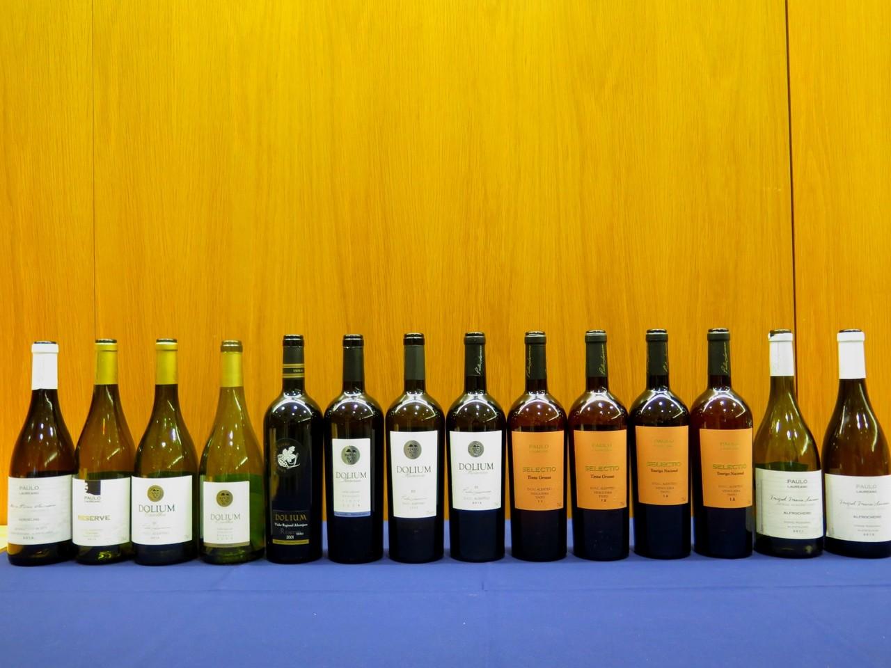 Os 14 vinhos de Paulo Laureano em prova