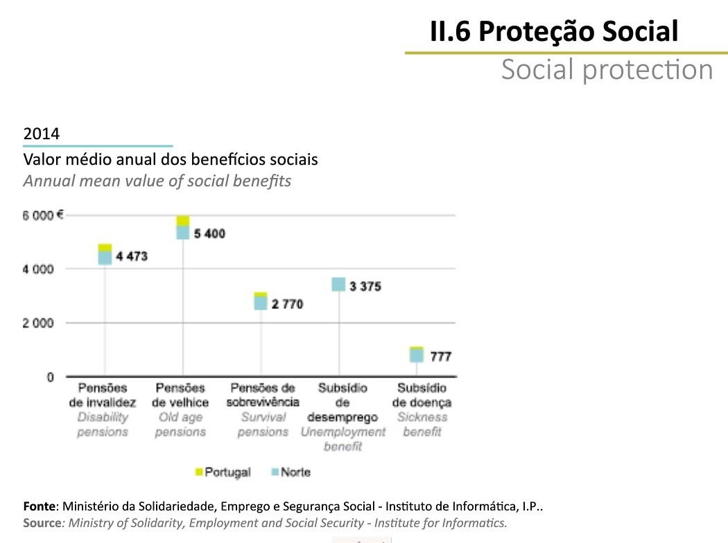 Região Norte em Números INE 2014_proteção soci