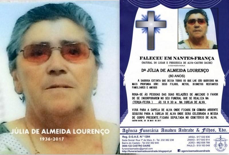 FOTO E RIP- DE JÚLIA DE ALMEIDA LOURENÇO -ALVA.j