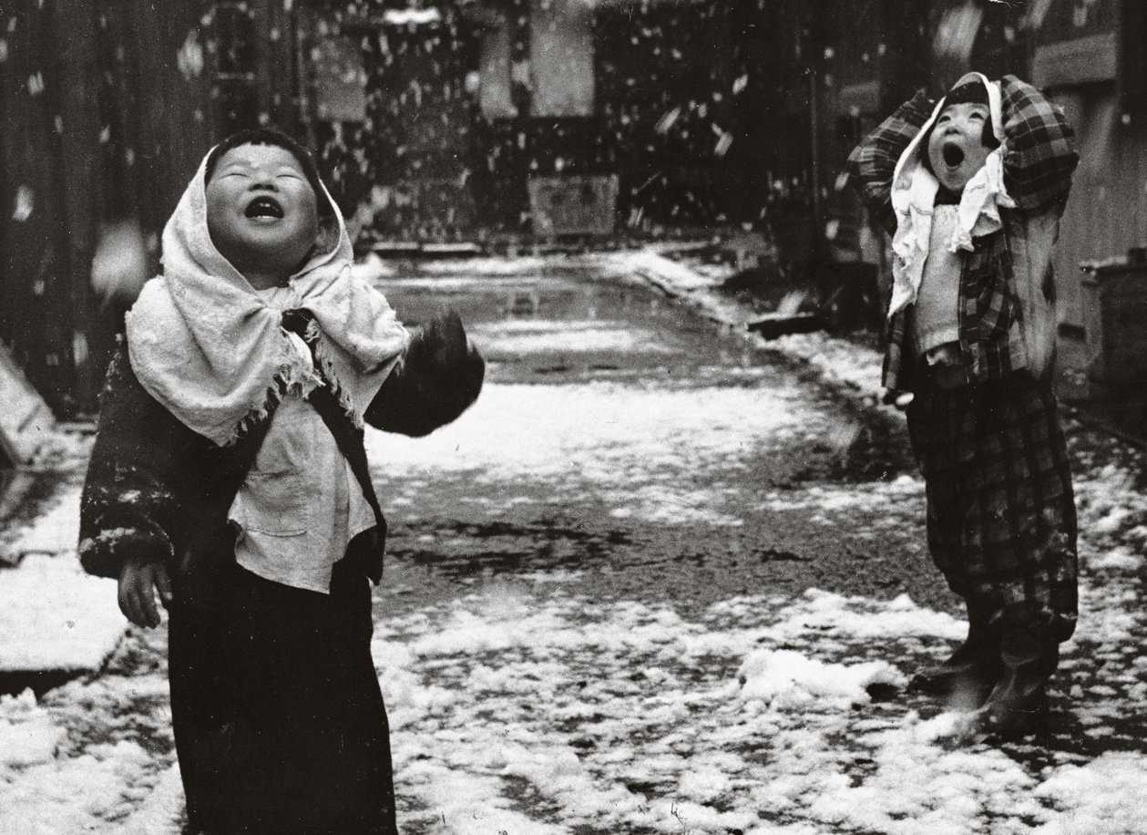 Unosuke Gamou  Children in the snow  (1950).jpg