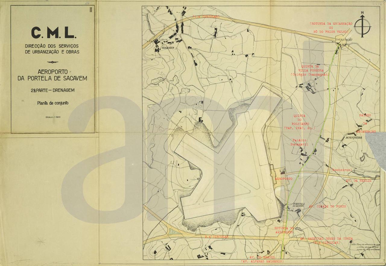 Projecto geral do Aeroporto da Portela de Sacavém (C.M.L./A.M.L., 78/DMPGU)