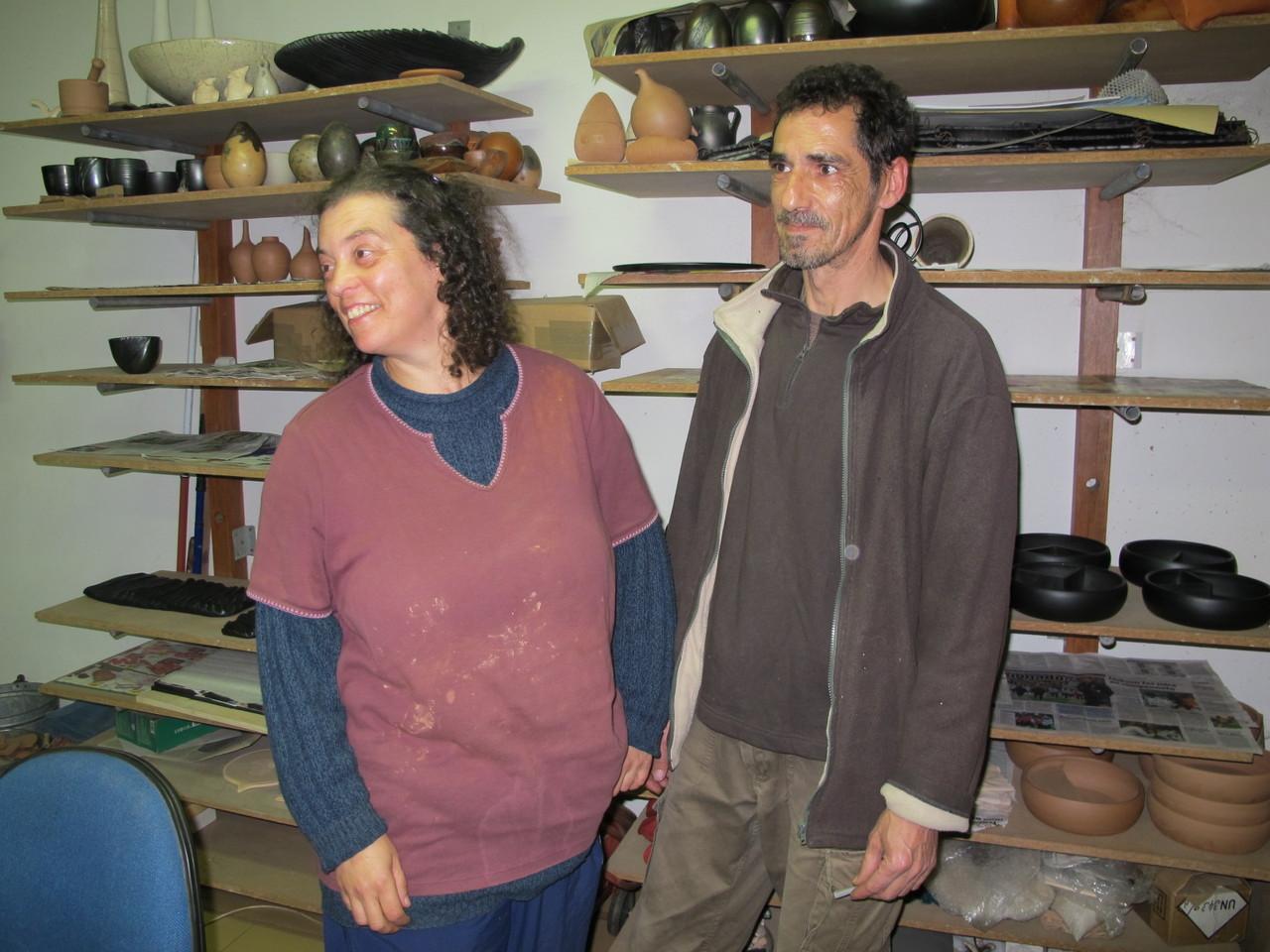 Xana Monteiro e Carlos Lima