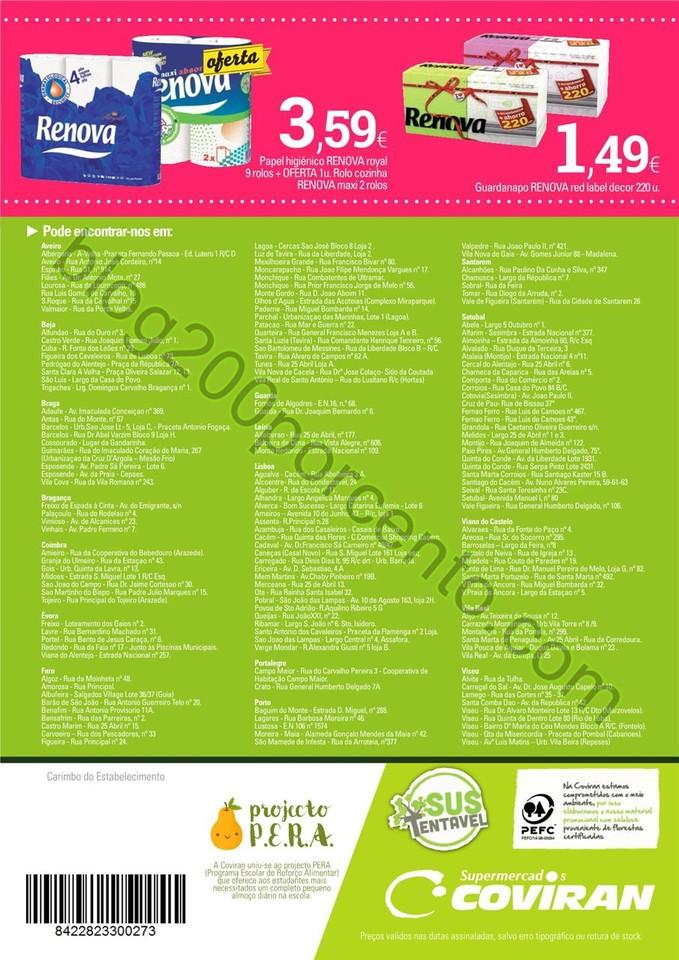 Antevisão Folheto COVIRAN promoções de 26 janei