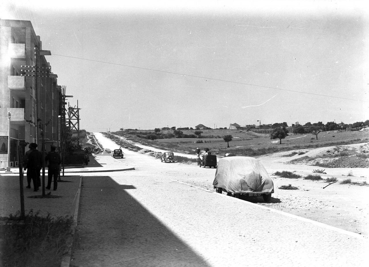 Av. dos E.U.A., Lisboa (E. Portugal, 1951)
