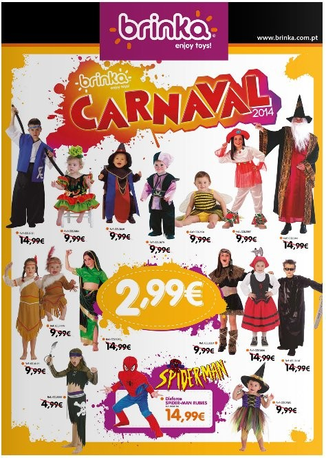 Novo folheto   BRINKA   Carnaval