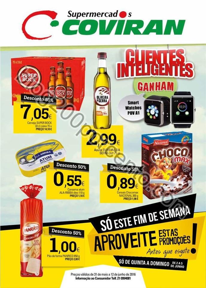 Antevisão Folheto COVIRAN promoções de 31 maio