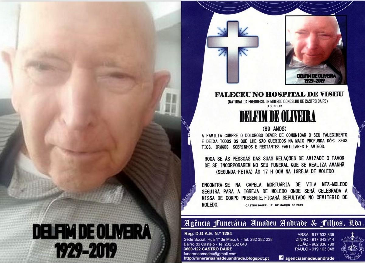 FOTO RIP DE DELFIM DE OLIVEIRA -89 ANOS (VILA MEÃ