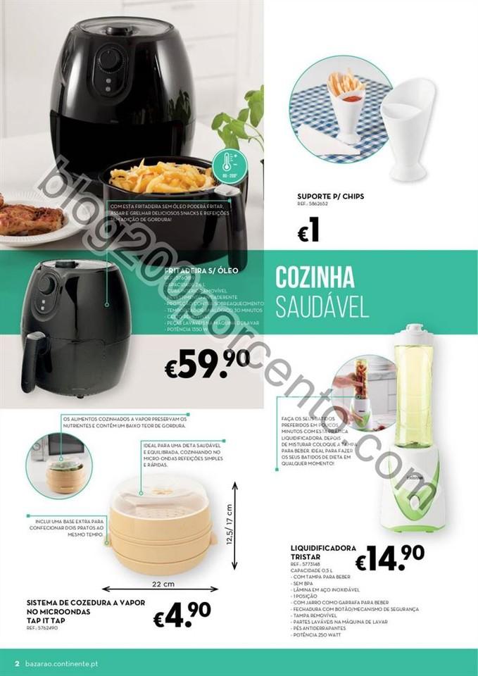 Antevisão Folheto CONTINENTE Bazarão promoções