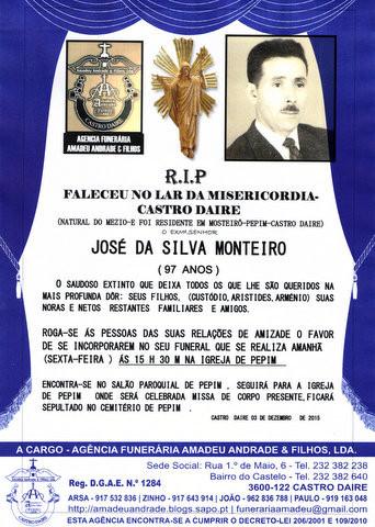 RIP- de JOSÉ DA SILVA MONTEIRO-97 ANOS (PEPIM).jp