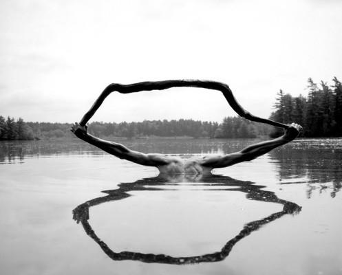 Photographer Arno Rafael Minkkinen - Water and Sky